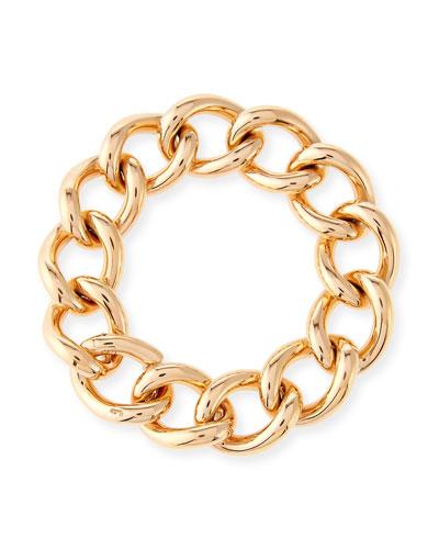 Tango Curb Link Bracelet in 18K Rose Gold