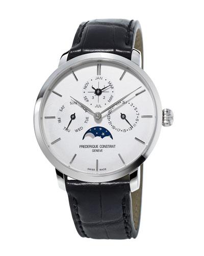 42mm Slimline Perpetual Calendar Manufacture Watch