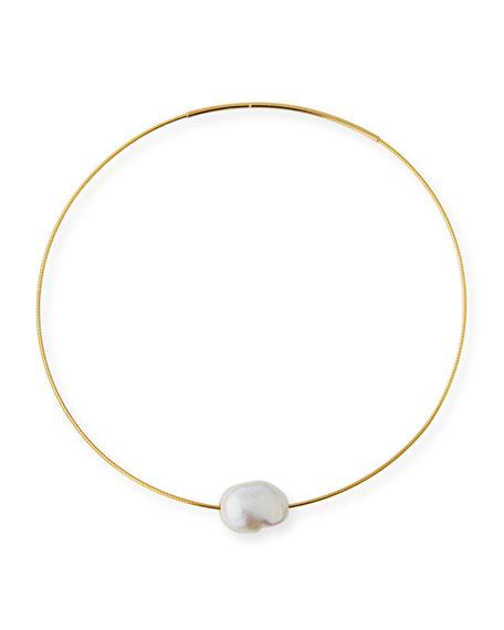 Margo Morrison Baroque Pearl Choker Necklace