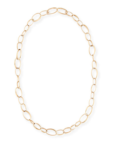 Chain Necklace in 18K Rose Gold