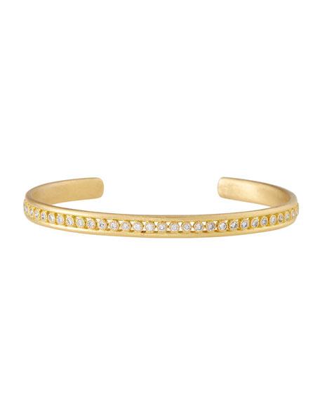Armenta Sueno 18K Gold Cuff Bracelet with Diamonds