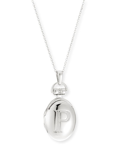 Petite Sterling Silver Initial