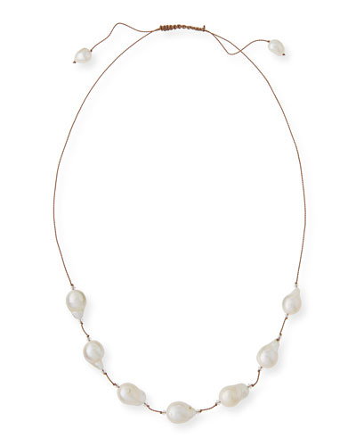 Baroque Pearl & Swarovski® Crystal Necklace