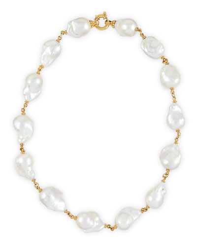 New Essentials Baroque Pearl Necklace