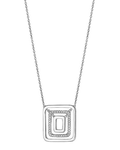 The Piece Swing Necklace with Diamonds