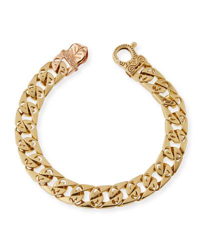 Arero Mura 18K Link Bracelet with Diamonds