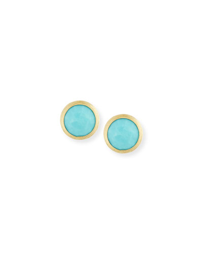 Quick Look Marco Bicego Jaipur Turquoise Stud Earrings