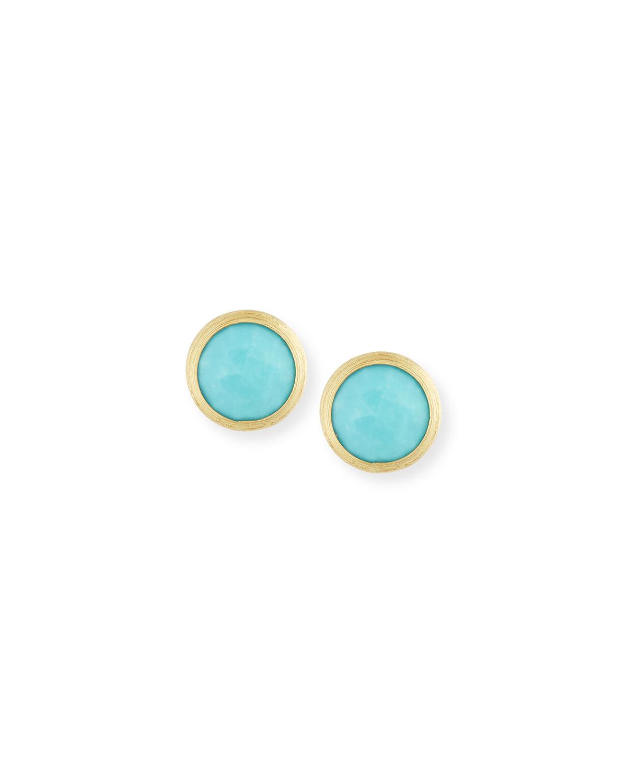Jaipur Turquoise Stud Earrings