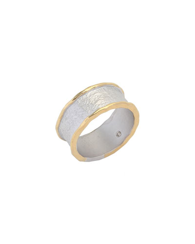 Serenity 9mm Band Ring, Size 7
