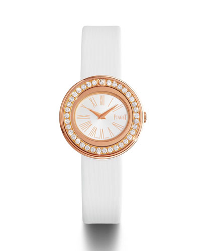 Possession 18k Rose Gold Watch with Diamonds