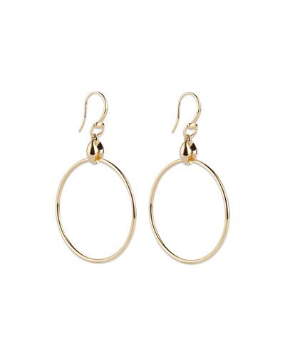 Marina Chain Hoop Earrings
