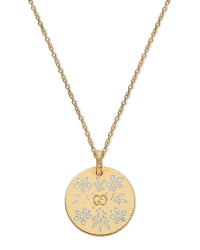 Icon Blooms Pendant Necklace