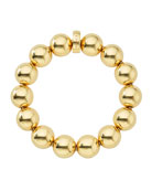 Medium 15mm Caviar Ball Stretch Bracelet