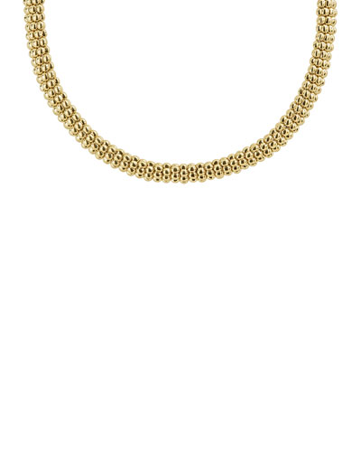 9mm Caviar Rope Necklace, 16