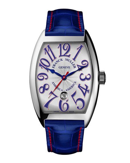 Franck Muller Automatic Watch on Alligator Strap