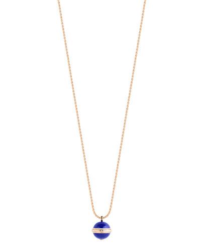 Possession Lapis Cabochon Pendant Necklace