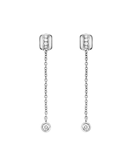 PIAGET Possession Night & Day Earrings with Diamonds in 18K White Gold