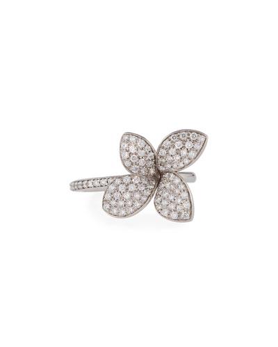 Giardini Segreti Petite Diamond Flower Ring