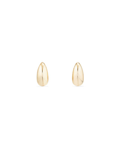 Pure Form 18K Gold Wire Earrings