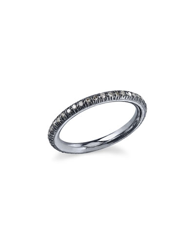Diamond Stacking Band Ring, Size 7