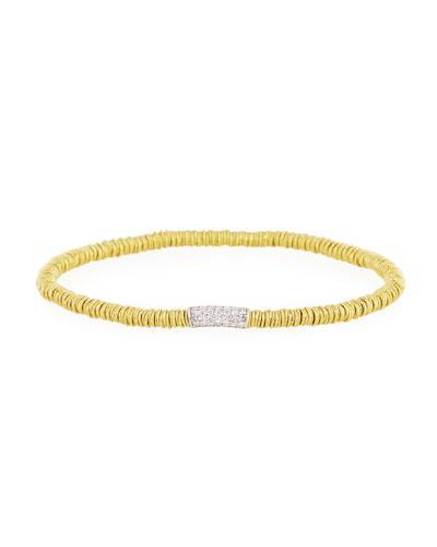 Small Joy 18K Gold Bracelet with Diamonds