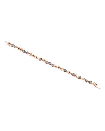 Meteorite Champagne Diamond Bracelet