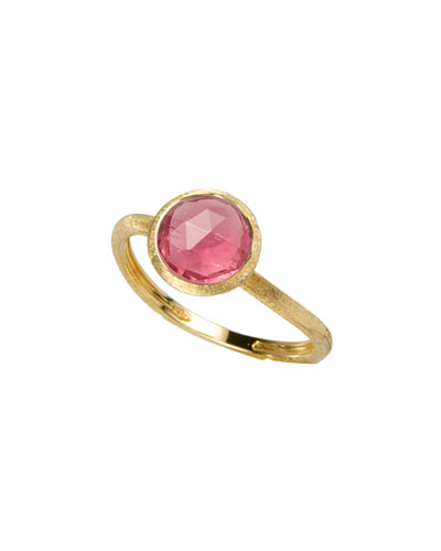 Jaipur 18K Gold & Pink Tourmaline Ring