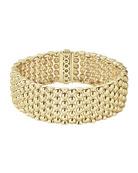 18K Gold Bold Caviar Rope Bracelet