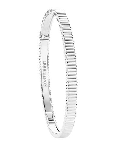 Quatre Grosgrain 18-Karat White Gold Bracelet