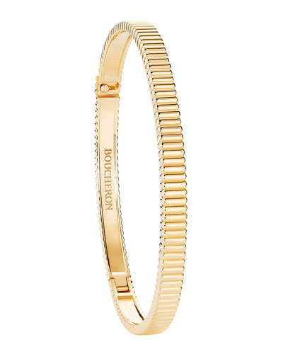 Quatre Grosgrain Bracelet in 18K Yellow Gold