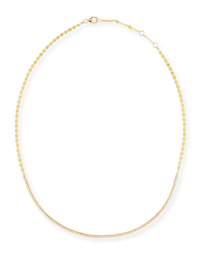 Flawless 14k Yellow Gold & Diamond Necklace