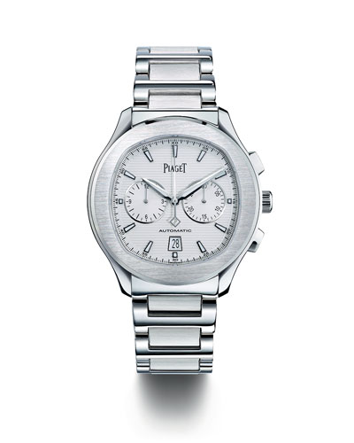 Polo Stainless Steel Chronograph Watch