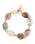 Ocean Jasper Beaded Bracelet