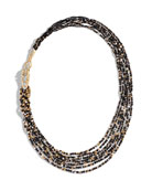 Legends Naga Beaded Necklace with Diamonds