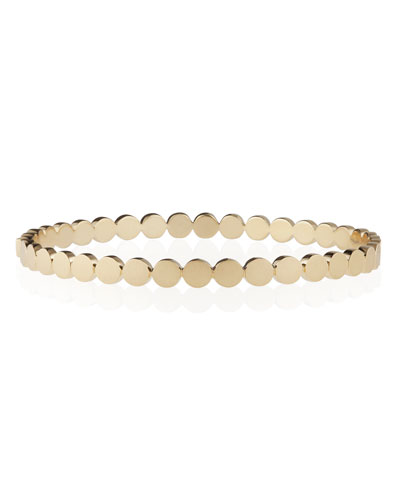 Disco Dots 18K Yellow Gold Bracelet