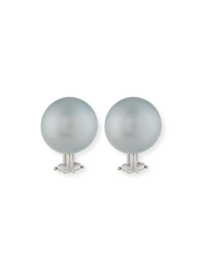 ASSAEL 13.9Mm Tahitian Pearl Earrings