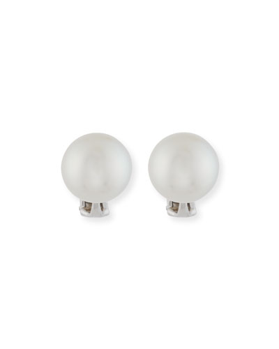 12mm South Sea Pearl Earrings