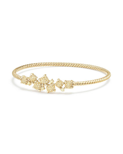 Petite Châtelaine 18K Gold Bracelet with Yellow Diamonds