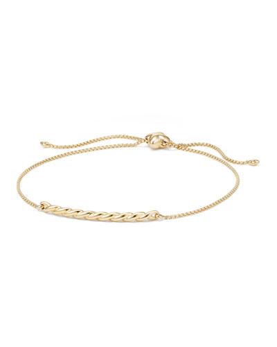 Petite Paveflex 18K Bracelet