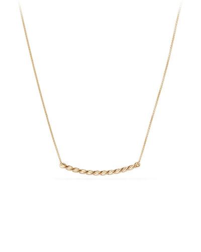 Petite Paveflex 18K Necklace