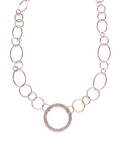 Ippolita 18k Prisma Multi-Circle Link Necklace in Portofino c28fl0