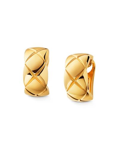 COCO CRUSH EARRINGS IN 18K YELLOW GOLD