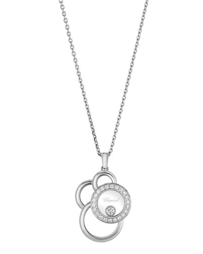 Happy Dreams Semi Pave Diamond Pendant Necklace