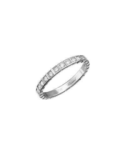 Memoire 18k White Gold Diamond Marquise Stack Ring, Size 6.5
