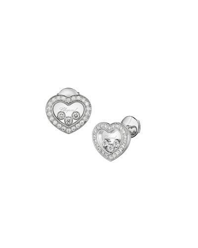 Happy Diamonds Icon Heart Earrings