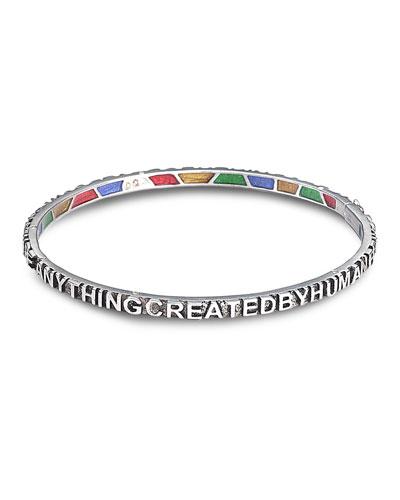 COOMI Sagrada Familia Sterling Silver Bracelet
