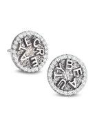 Sagrada Familia Create Beauty Stud Earrings with Diamonds