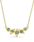 Birds of Paradise Opal Necklace
