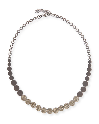 SIENA LASKER DIAMOND CIRCLE NECKLACE