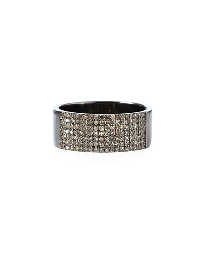 Pavé Diamond Line Ring, Size 7